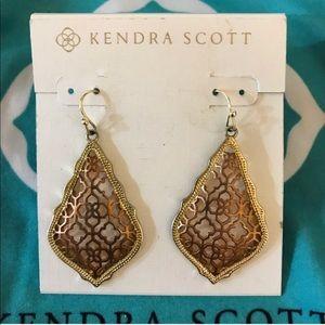 Kendra Scott Addie Rose Tone Earrings